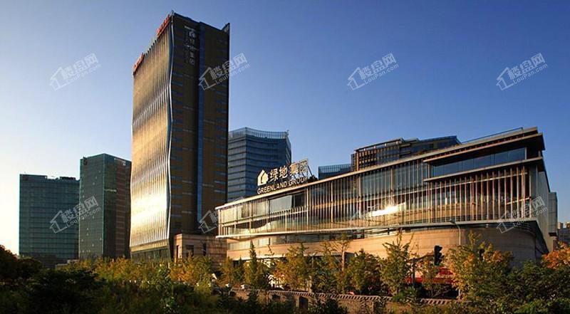 赣江绿地中央广场实景图