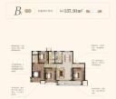 B1 137.91㎡ 四室两厅两卫