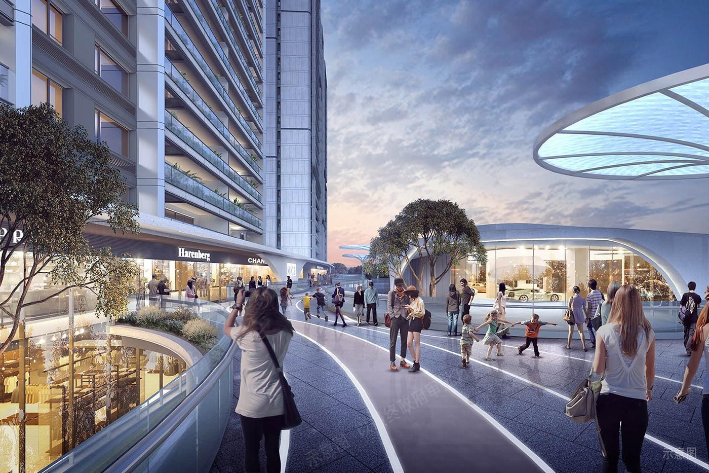 融创新城·未来之城效果图