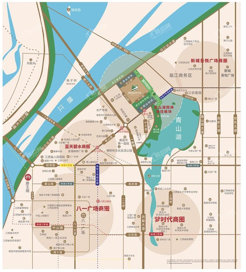 奥园铂翠中央位置图