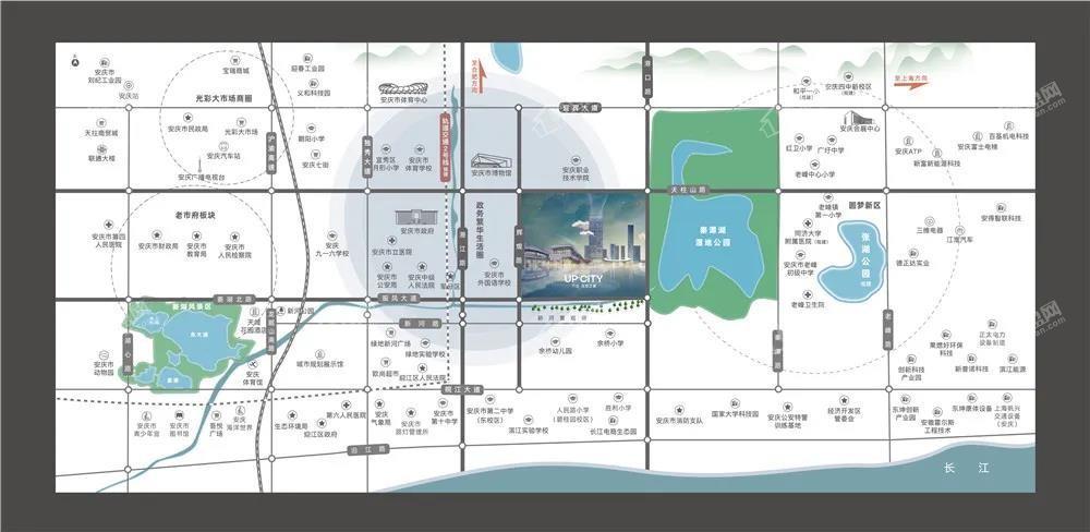 万达·天空之城位置图
