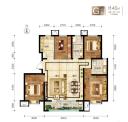 F户型4室2厅2卫140平米