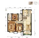 A户型3室2厅2卫115平米