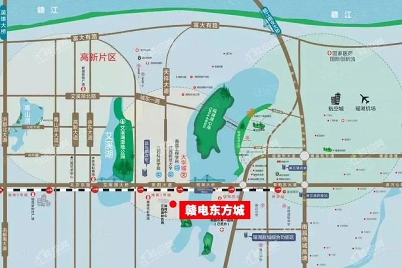 赣电东方城位置图