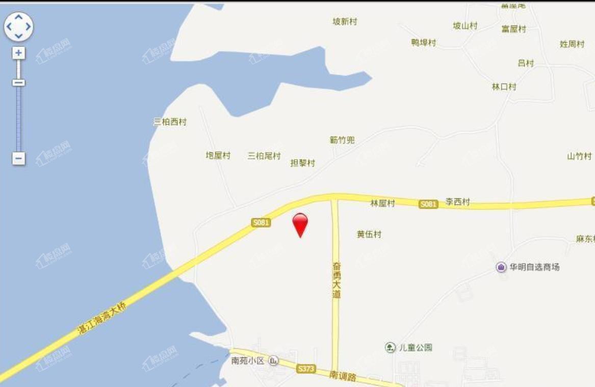 地标海东广场位置图