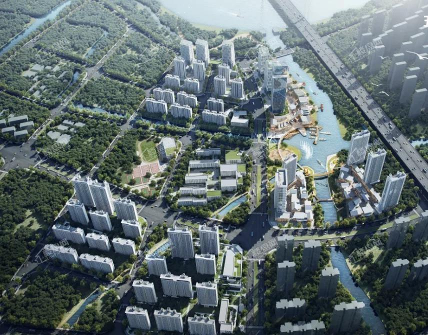 宝龙雅戈尔江汇城效果图