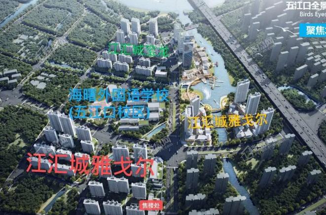 宝龙雅戈尔江汇城配套图