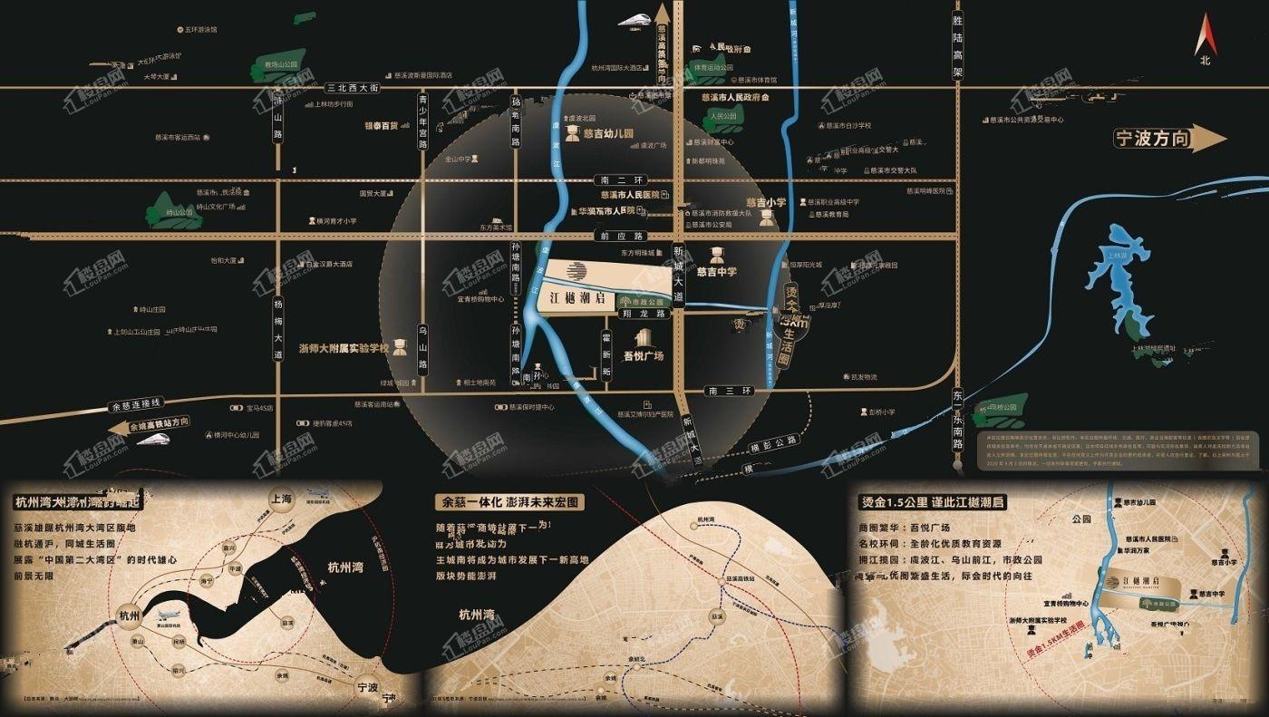 金辉新力·江樾潮启位置图