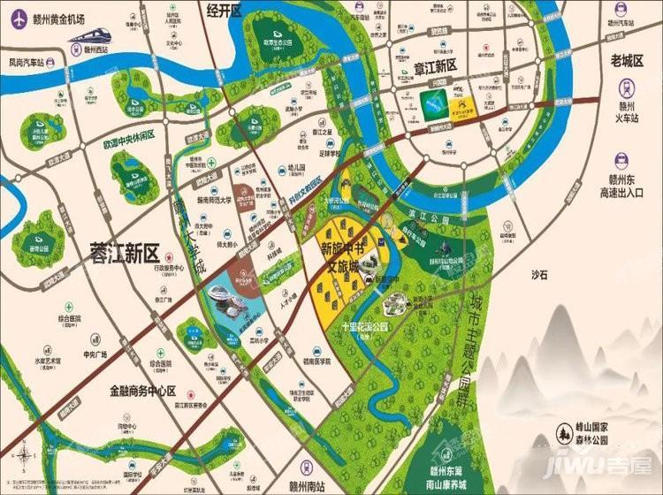 新旅中书文旅城位置图