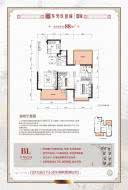 龙光玖誉城嘉城66/67/70-72#楼88㎡B1户型