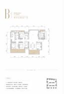 锦麟玖玺1/2/3#楼B1'户型166㎡