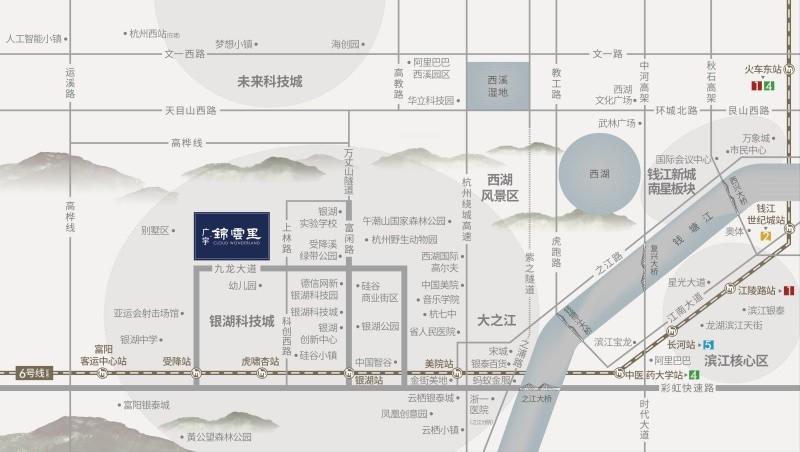廣宇·錦云里位置圖