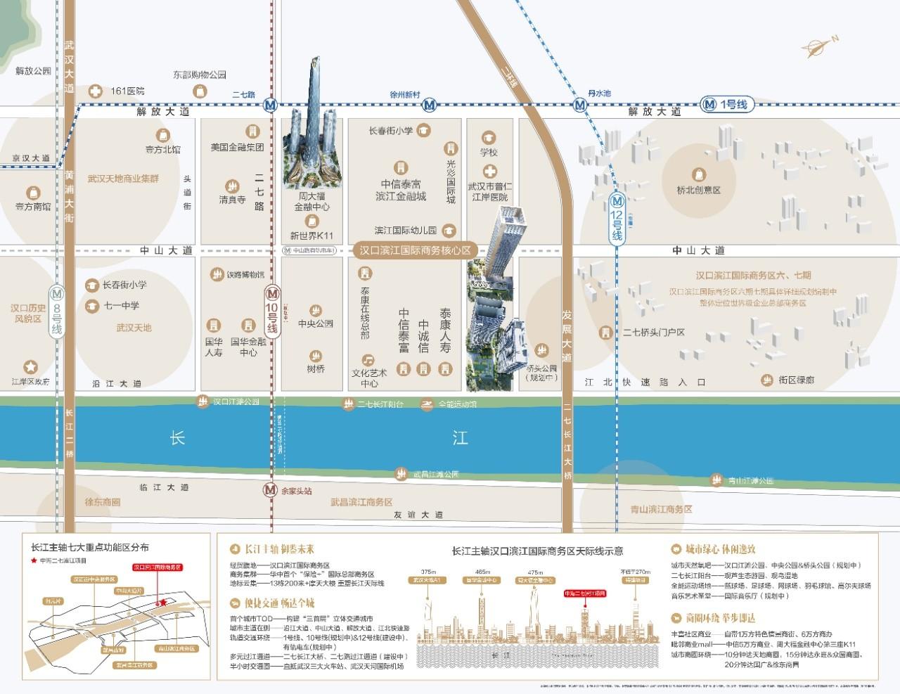 中海长江十里位置图