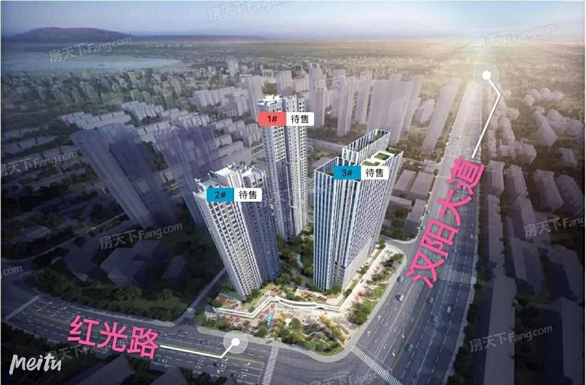 中国中铁·金桥璟园实景图