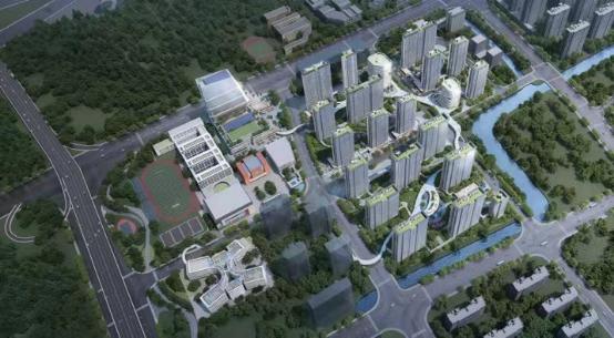 中国铁建未来视界效果图