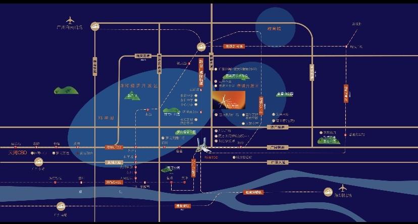 珠江花屿花城位置图