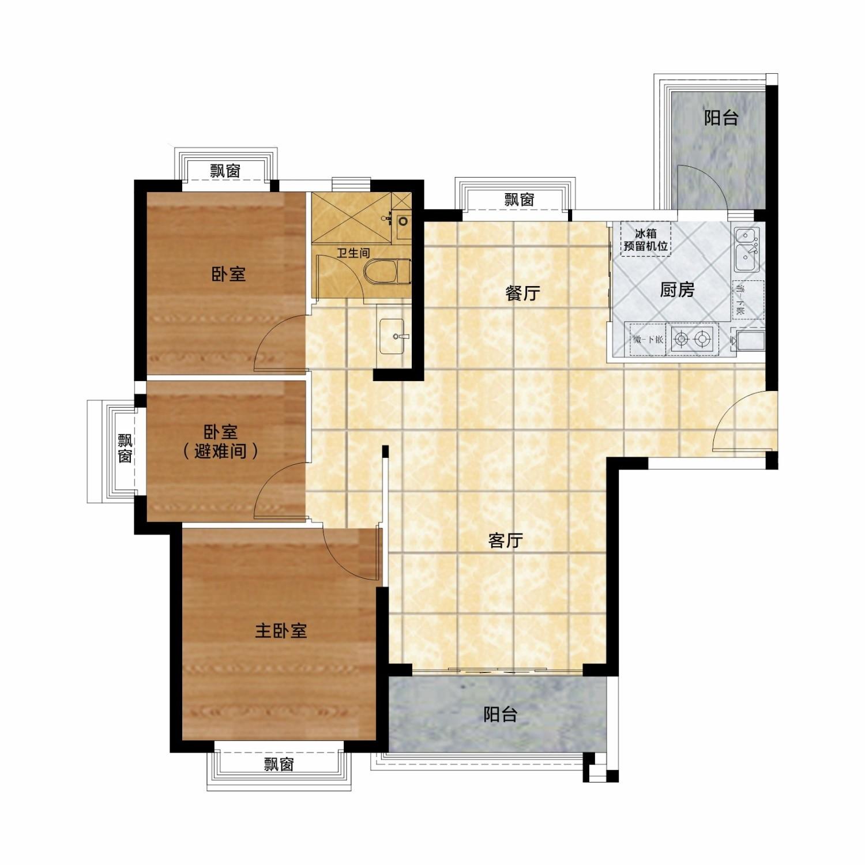 113㎡ 三房两厅一卫.jpg