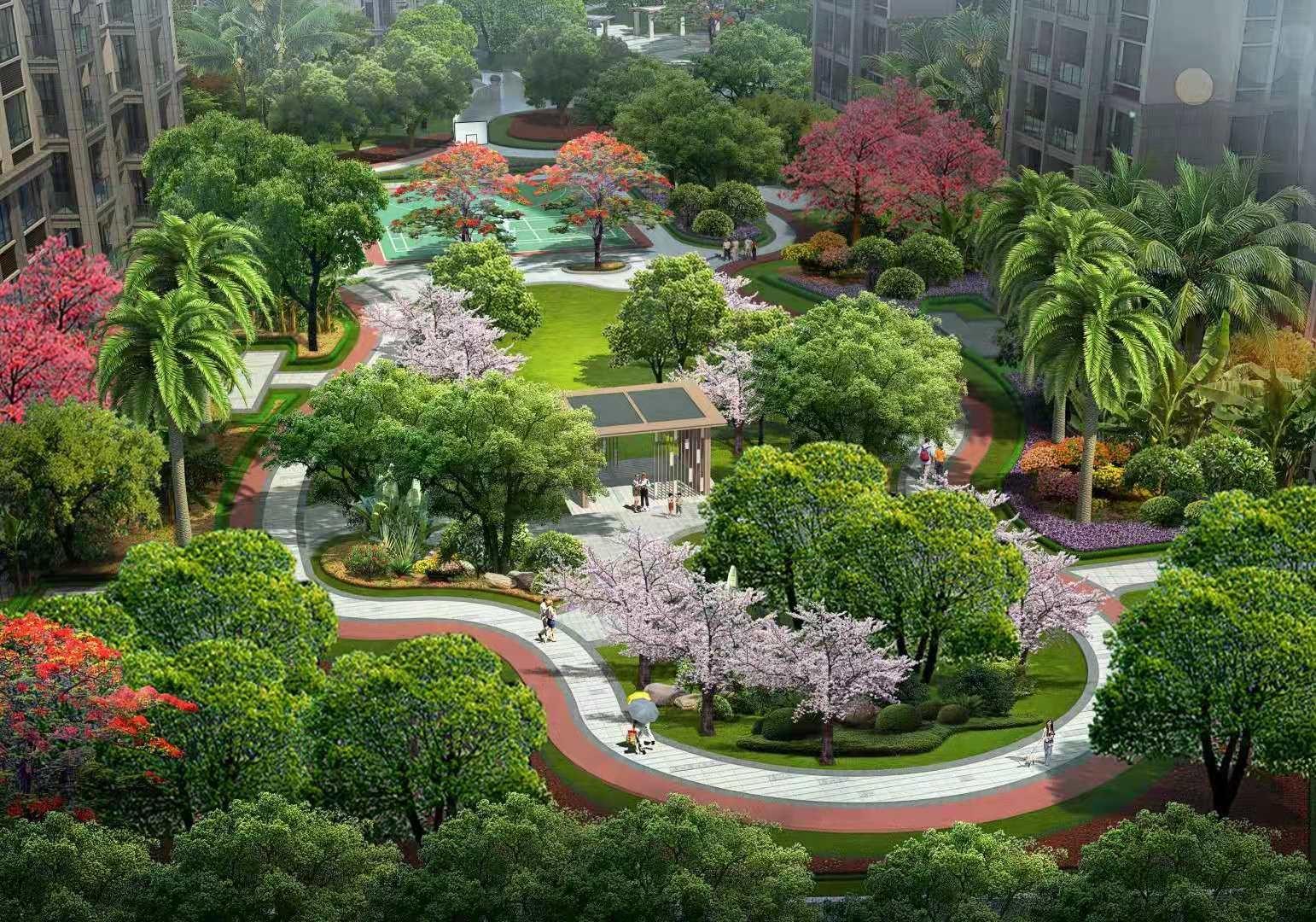 旭阳·热带森林效果图