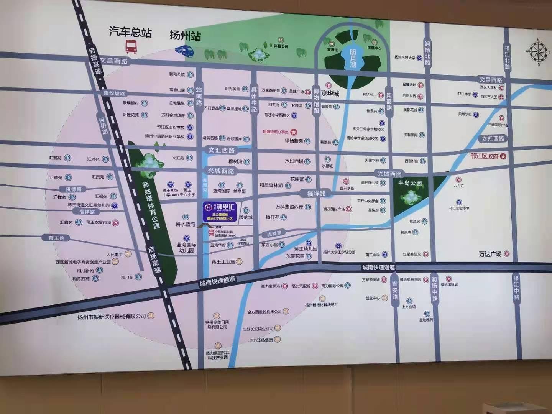 蒋王邻里汇位置图