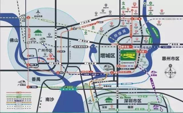 绿湖国际城位置图