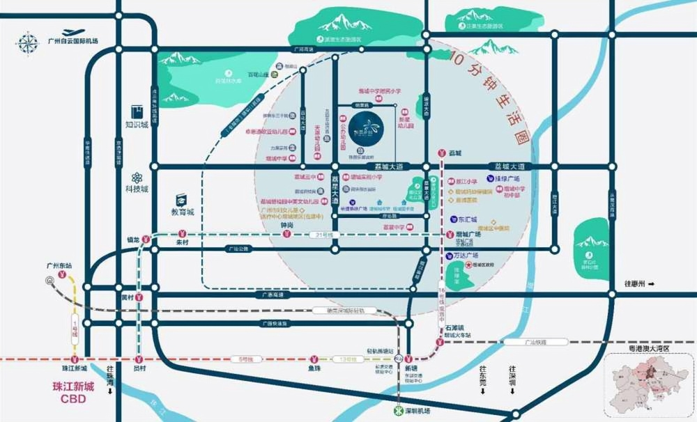 凯德·凯荔花园位置图