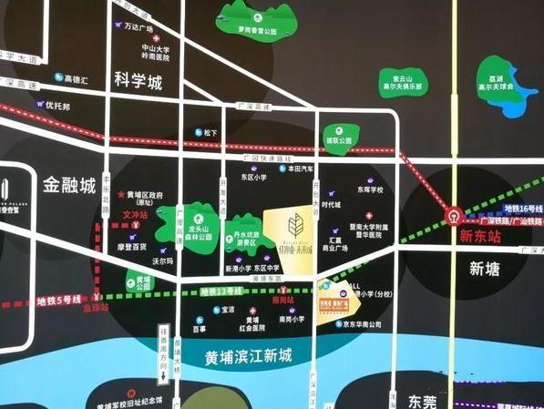 佳兆业未来城位置图