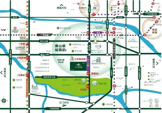 中建顺控云熙悦城位置图