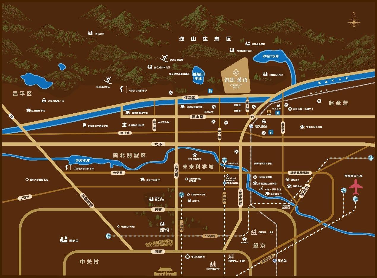 凯德麓语位置图