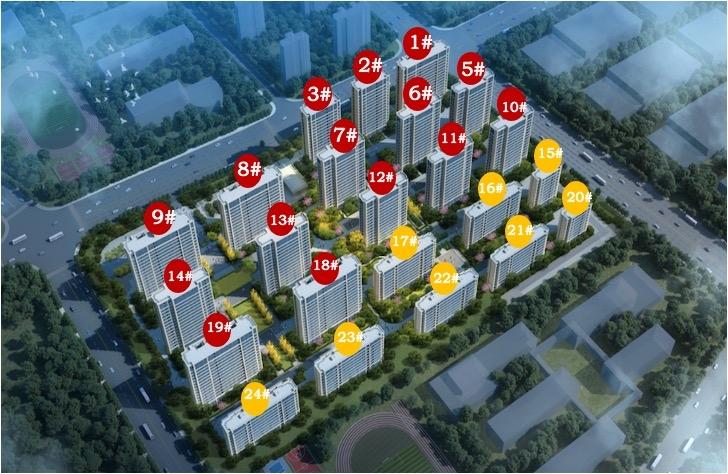 绿城桂语朝阳效果图