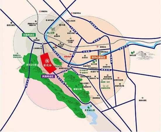 楚雄茶花谷位置图