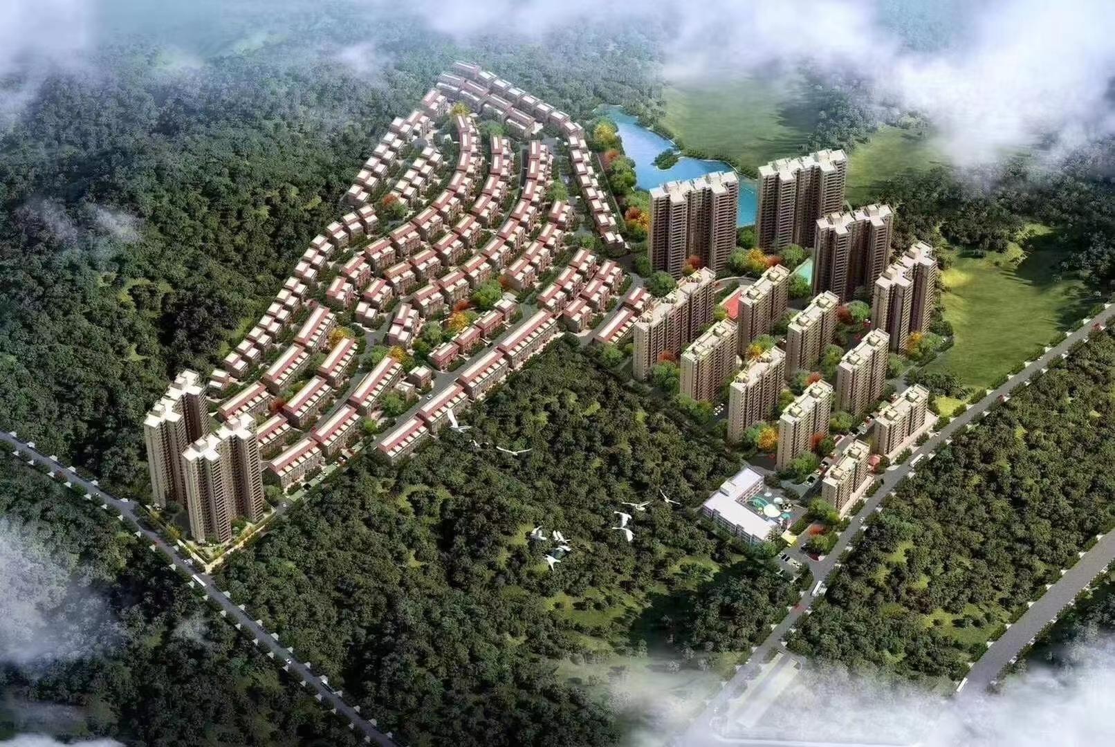 建华.山水国际新城