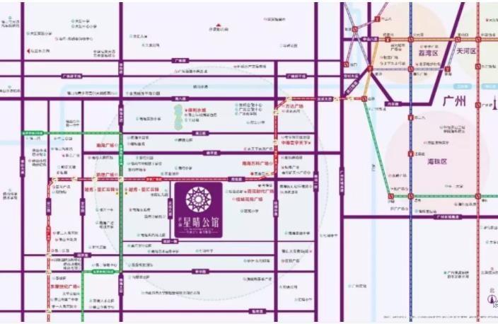 桂南星晴公馆位置图