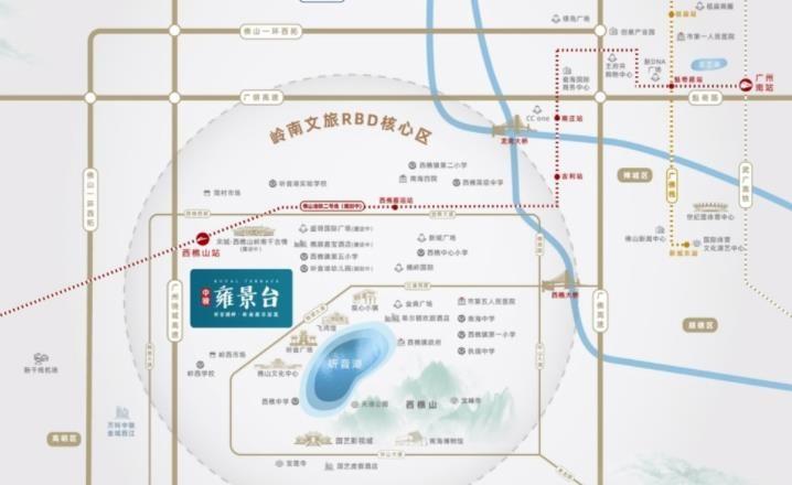 中骏·雍景台位置图