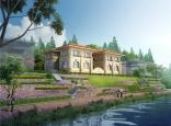 中体玲珑墅Ⅱ期双拼别墅户型面积为96-160㎡ 在售价格298-550万元/套