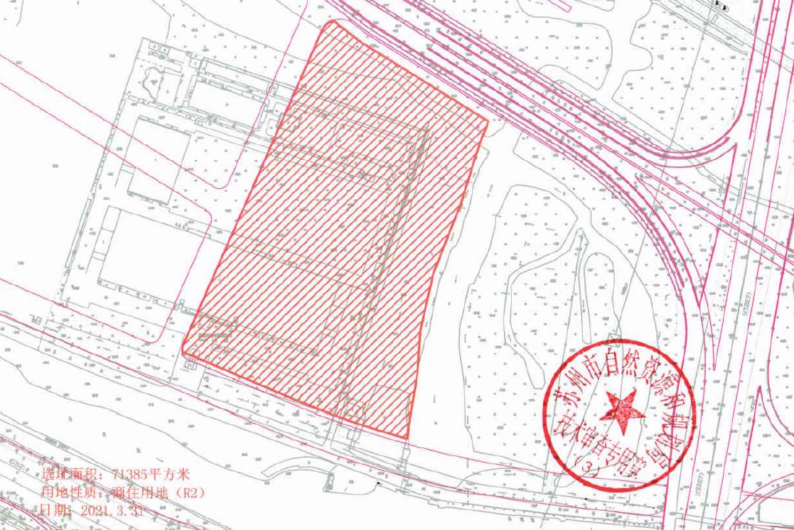 苏地2021-WG-43号地块配套图