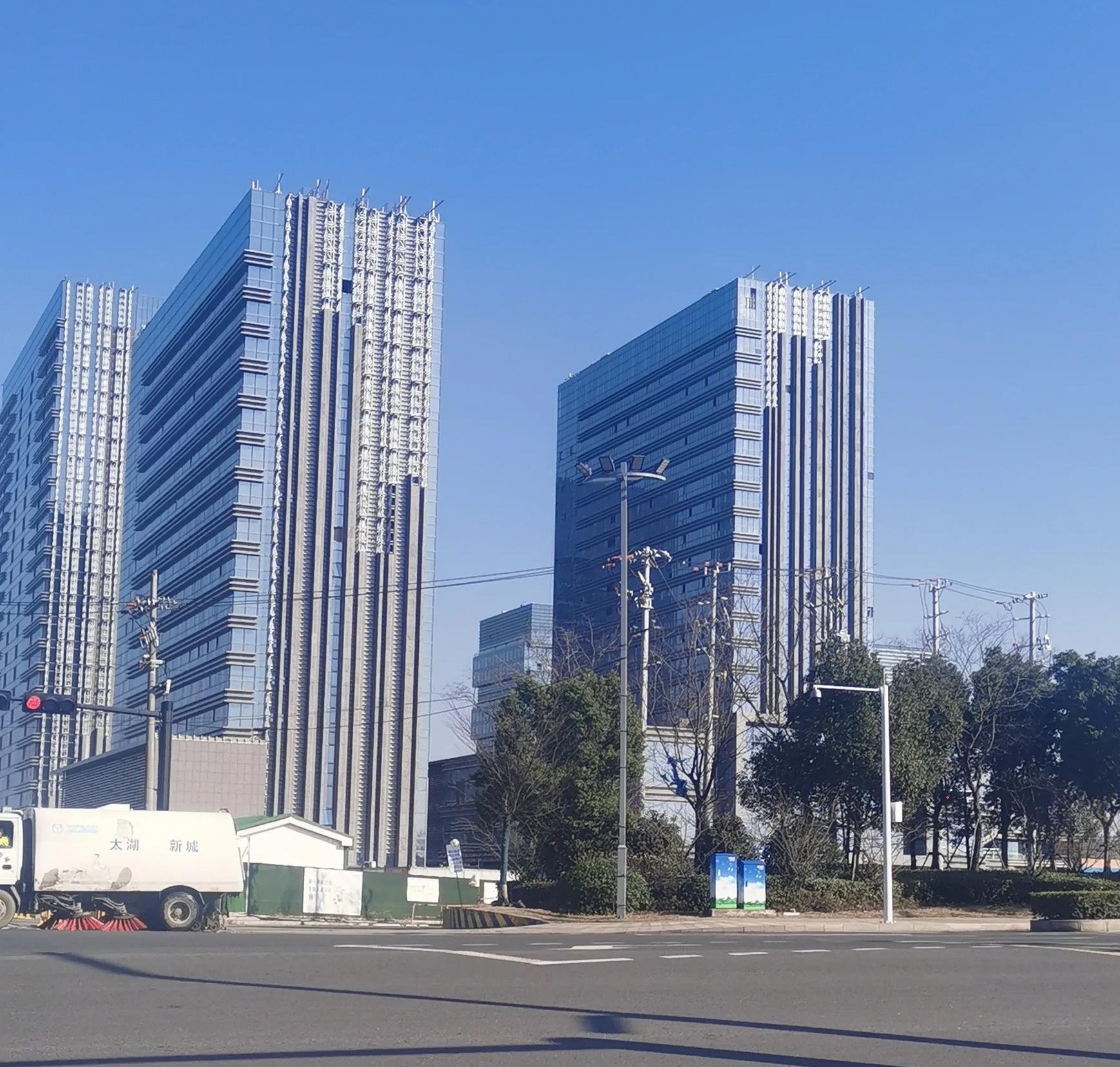 苏州湾中心广场实景图