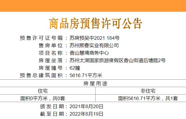 香山慧境商务中心配套图