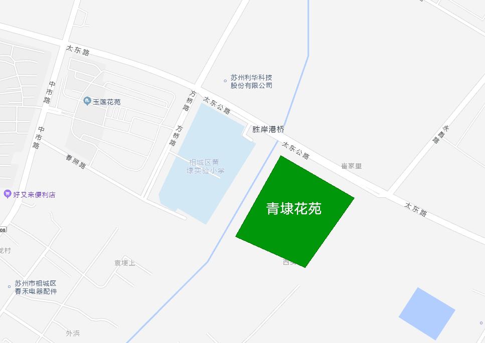 青埭花苑位置图