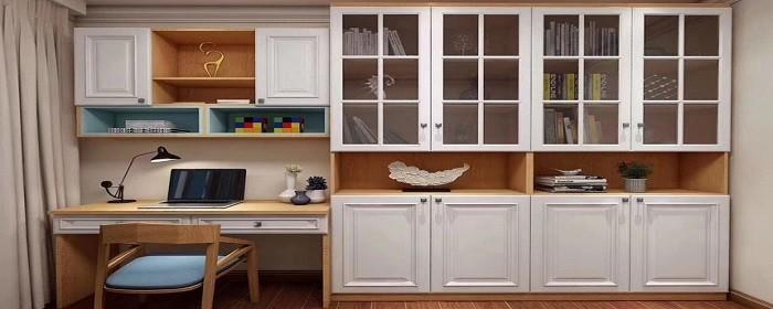 敞开式书柜怎么加门