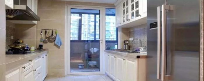 阳台和厨房是一体怎么晾衣服