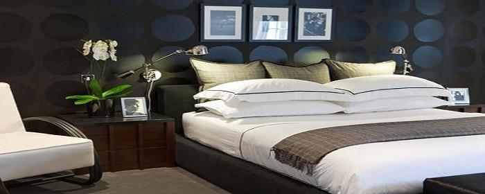 床对面的墙不放电视怎么装修