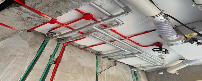 卫生间冷热水管安装高度多少