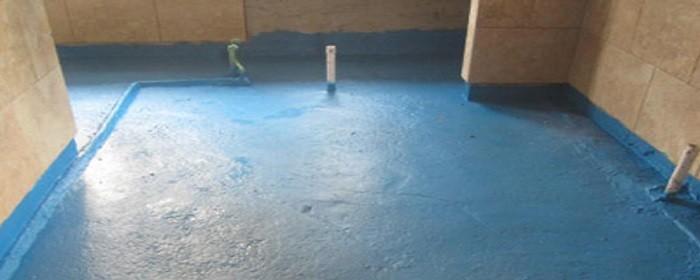 刷防水涂料地面湿的好还干的好