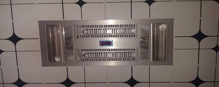 浴霸开关安装方法