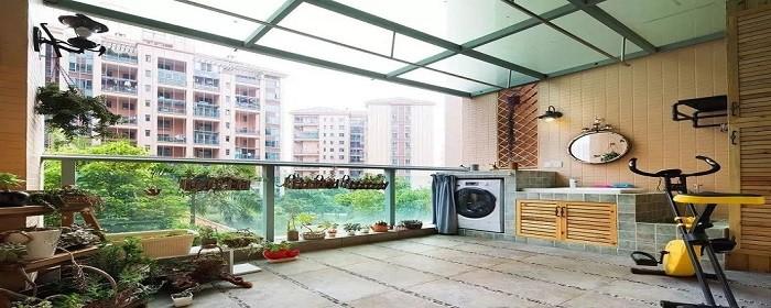 厨房在阳台怎么装修