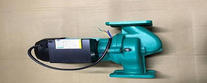 暖气加压泵安装在进水还是出水