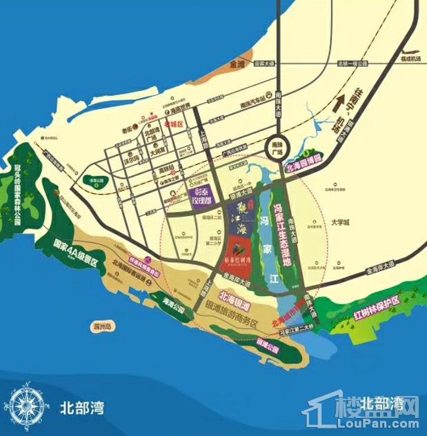 彰泰红树湾区位图