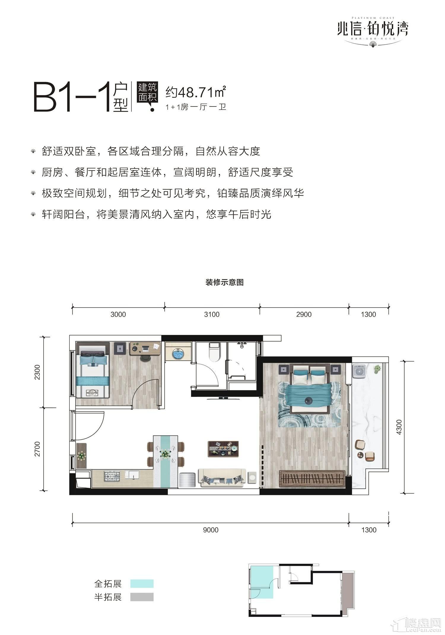 B1-1户型