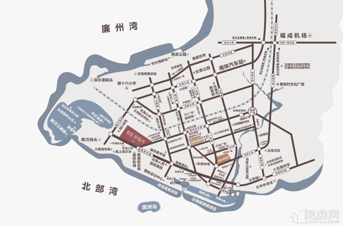 铂悦湾区位图