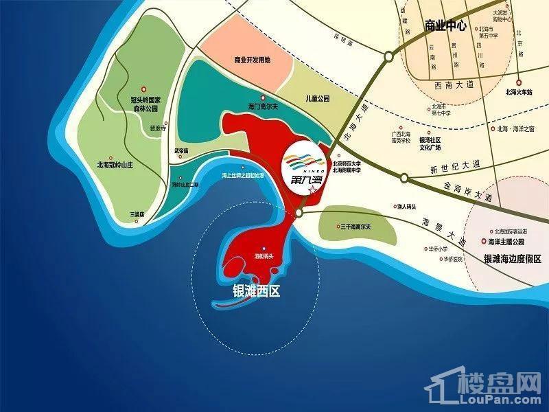 第九湾区位图